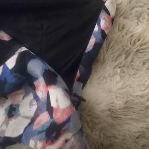Express Dresses - Express floral halter dress sz 2 NWT
